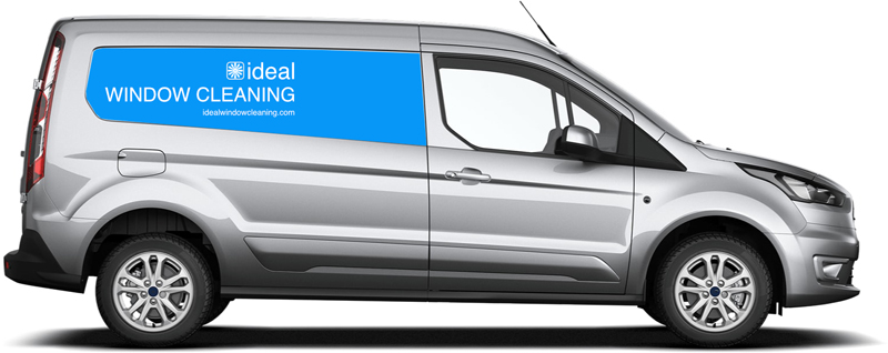 Ideal Window Cleaning Van
